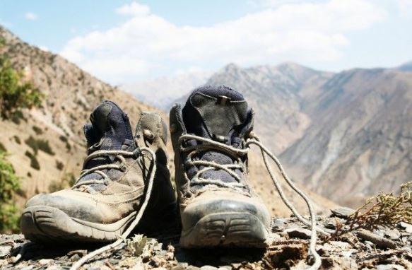 moji pohodni čevlji