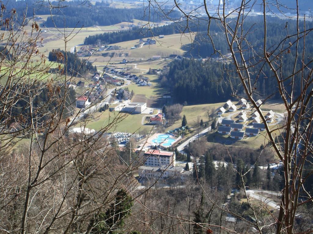 Planina nad Hrastnikom, Lom nad Topolšico, Štefanja gora