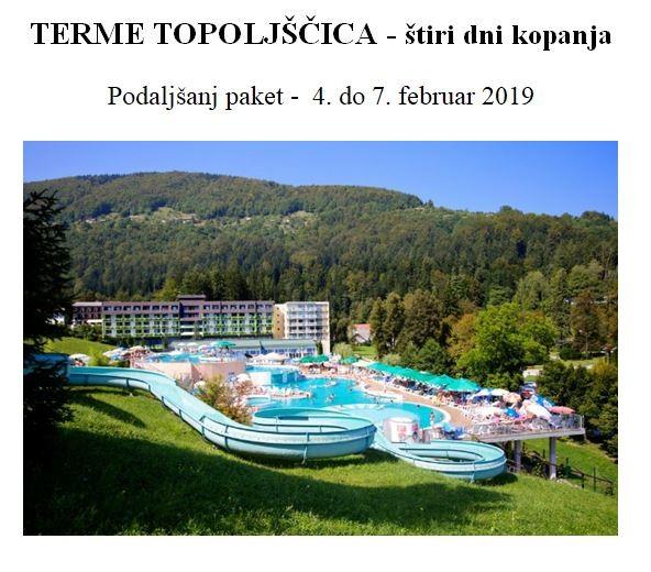Terme Topolščica - februar 2019