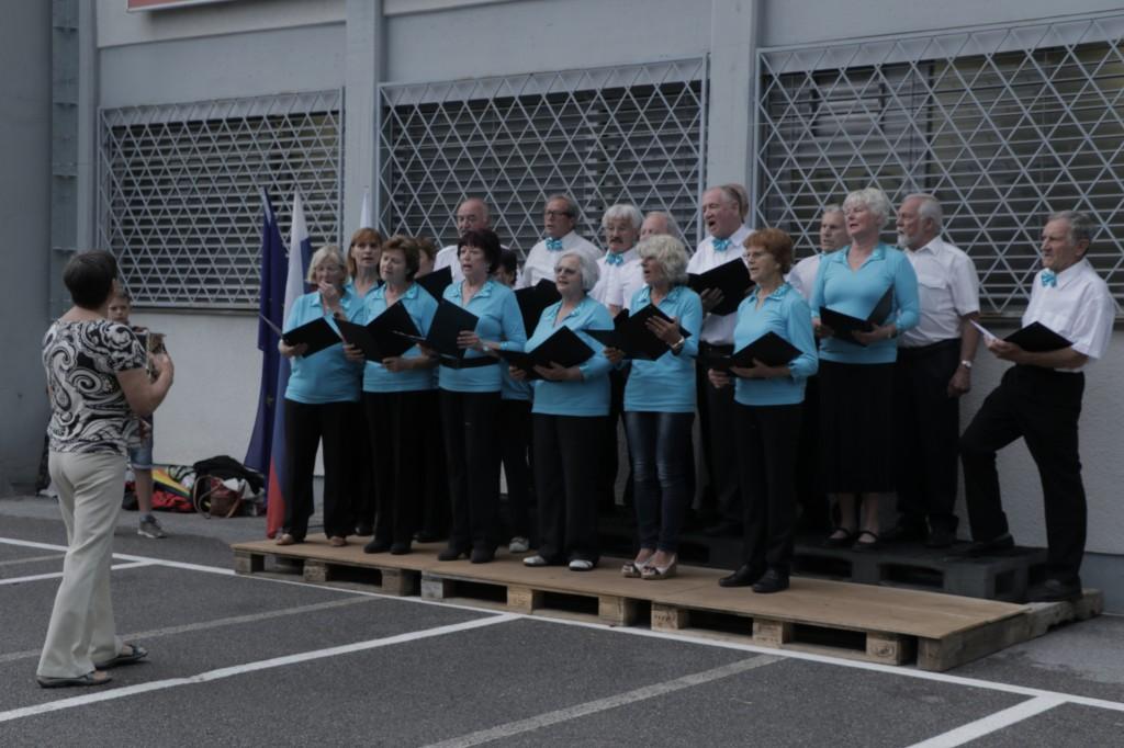 Pevski zbor Društva upokojencev Kozarje
