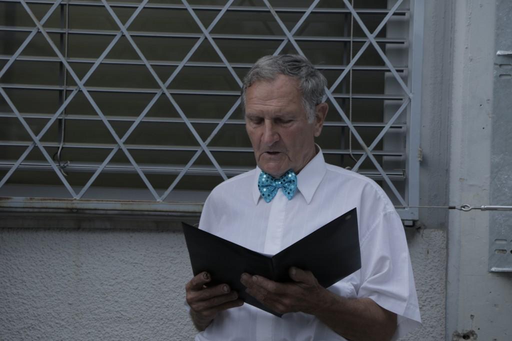 solist Franci Hočevar, Pevski zbor upokojencev Trnovo